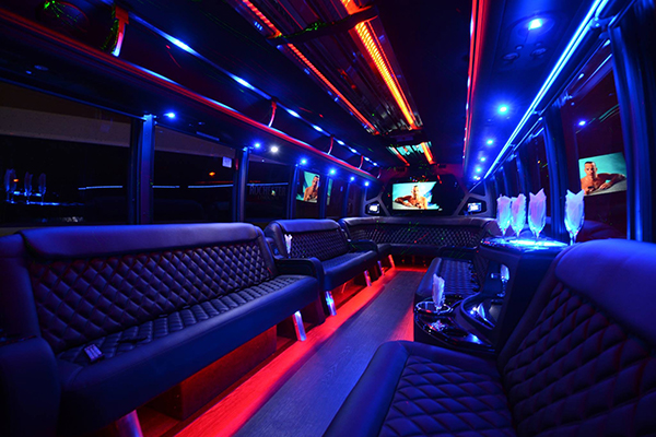 40 Person Party Bus Rental Springdale